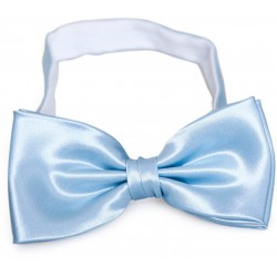 Bleue clair noeud papillon