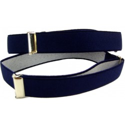 Bleu Marine brassards chemises
