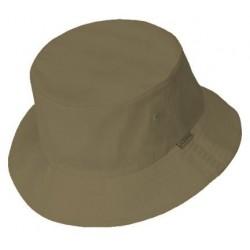 Foncé chapeau de seau gris