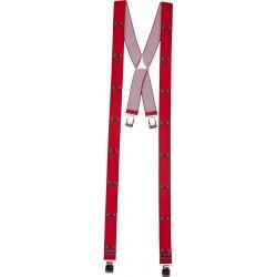 Larges bretelles avec motif pompier
