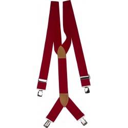 larges bretelles rouges appoint