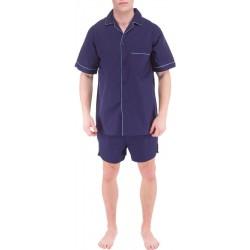 Pyjama bleu foncé Hommes