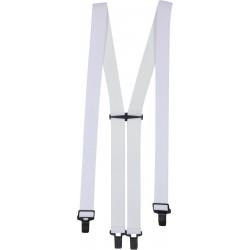 Bretelles super suspender - Blanc