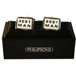 Boutons de manchette Philipsons - Best man