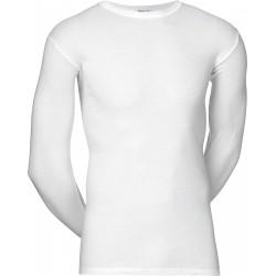Blanc maillot à manches longues JBS