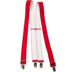 Larges bretelles rouges