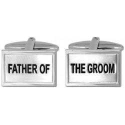 boutons de manchette père du marié