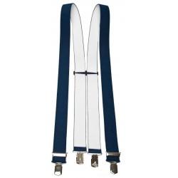 Largeur bleu foncé Bretelles