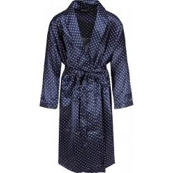 Ambassador satin peignoirs - Bleu