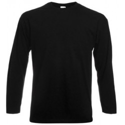 T-shirt manche longue noir