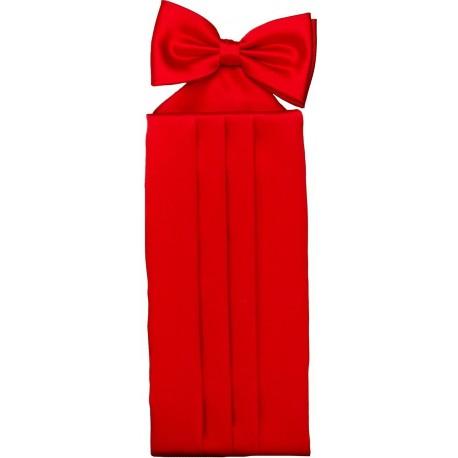 Rouge ceinture de smoking colorée
