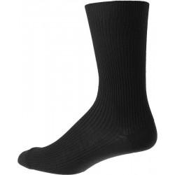 Les chaussettes pour hommes sans ceinture élastique - Noir