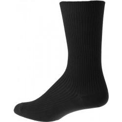 Les chaussettes pour hommes sans élastique - Noir