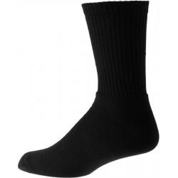 Épaisses noires mens chaussettes de coton