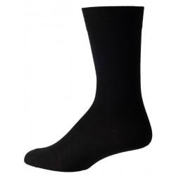 chaussettes noires pour les hommes