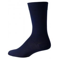 chaussettes bleu foncé pour les hommes