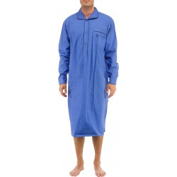 Chemise de nuit Bleu medium